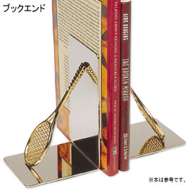 TENNIS BOOKENDS