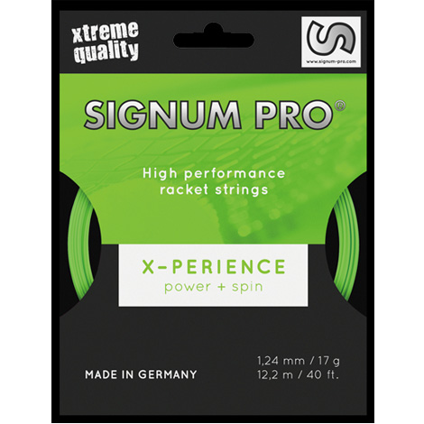 X-PERIENCE 1.18/1.24/1.30mm(単張)【40%OFF】